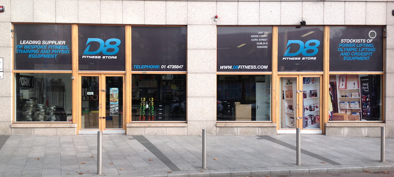 D8 Fitness Store