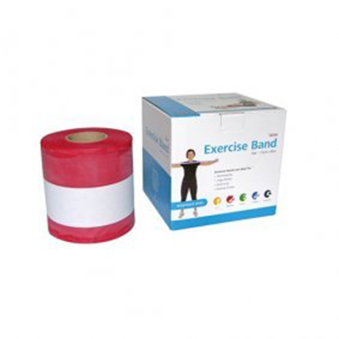 Exercise Band Medium Red