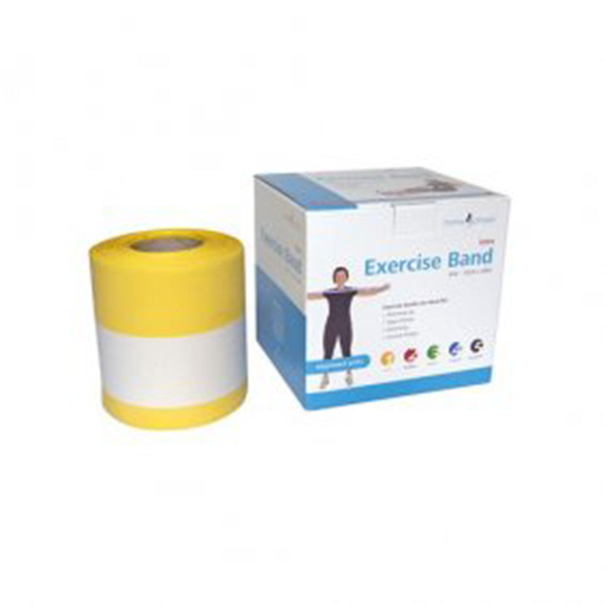Exercise Band Light Strength yellow