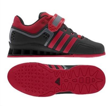 3f284ed5f1084f Adi Power Black Weight Lifting Shoes - D8 Fitness