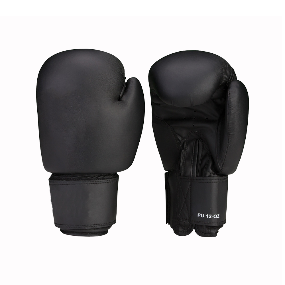 PU Boxing Gloves Black – Boxing, Fitness