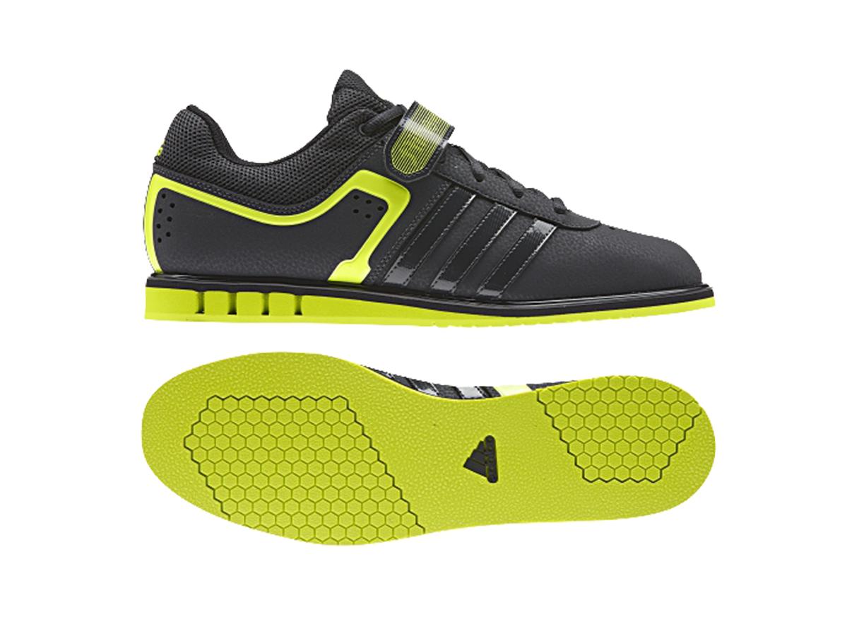 Adidas Powerlift 2.0 Dark Grey Yellow - D8 Fitness b8a4e6b0cc15