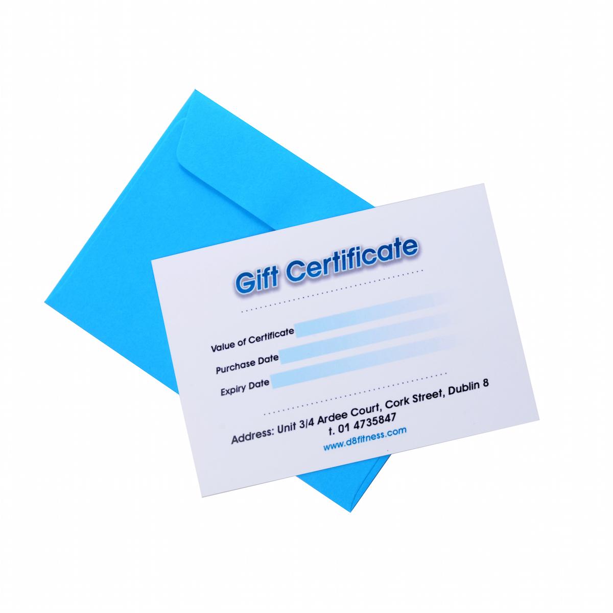 D8 Gift Card