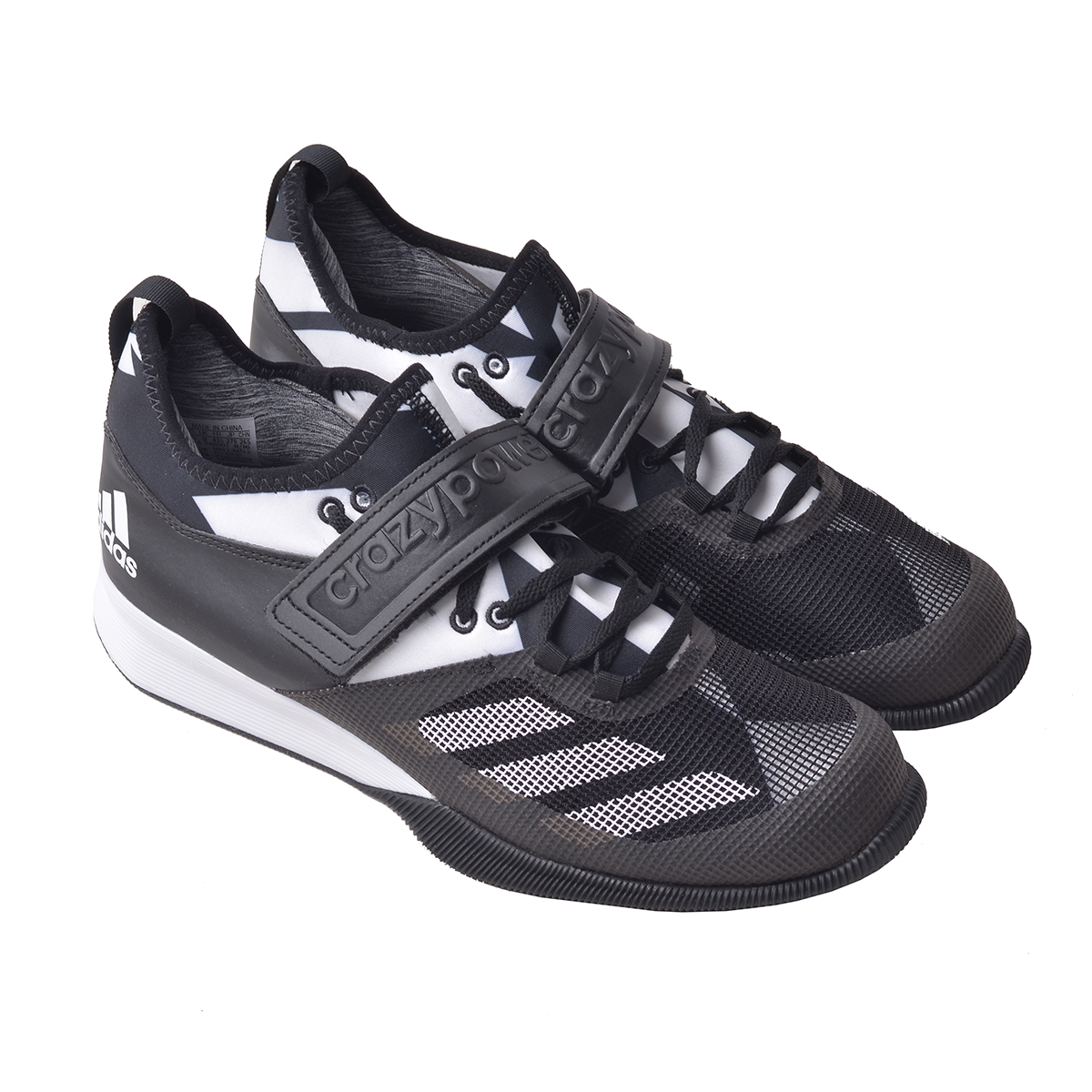 check out 0204e 6936a Adidas Crazy Power Weight Lifting Shoe