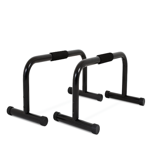parallettes dip bars 1 pair size small d8 fitness