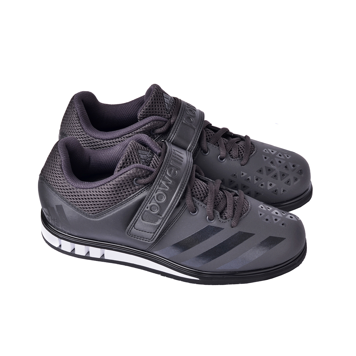 8d6258268086 Adidas Powerlift 3 Weightlifting Shoes in Black and White
