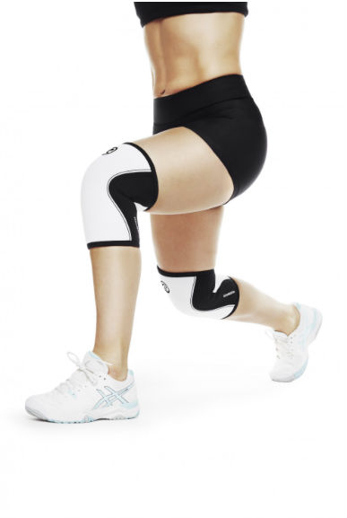 d32e7455e776 Rehband Knee Support White 7mm – FREE DELIVERY - D8 Fitness