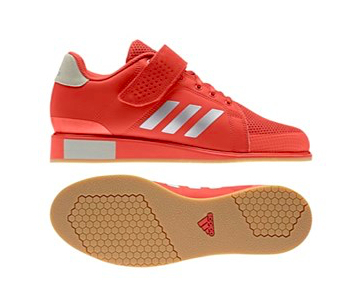 e91e1f5960 ADIDAS POWER PERFECT 3 WEIGHTLIFTING SHOES - RAW AMBER - D8 Fitness