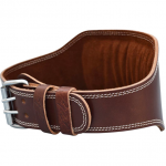 Leather Brown Weightlifting Belt