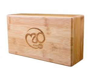 Hollow Bamboo Yoga Brick